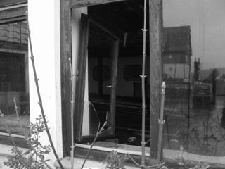 Zerstörte Fenster