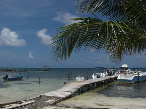 Belize - Inselstrand (fotos: koerdt)