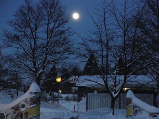 Heute Abend: der Mond über Winterberg (foto: zoom)