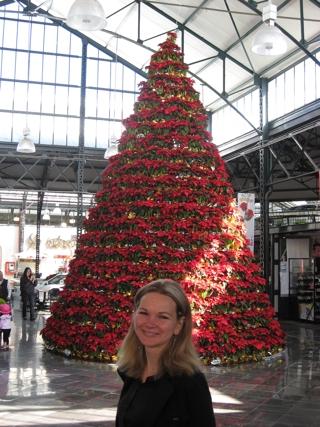 """Ein weihnachtliche """"hola a todos"""". (fotos: koerdt)"""
