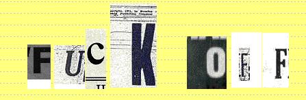 erpresserbriefe