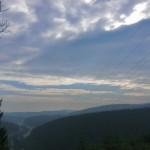 Alles im grünen Bereich. Blick Richtung Winterberg. (foto: zoom)