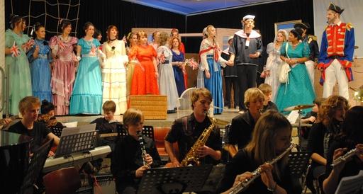 Gibert & Sullivan: Chor und Orchester des Geschwister-Scholl-Gymnasiums