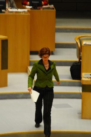 Wibke Brems, energiepolitische Sprecherin der Grünen in NRW (pressefoto)