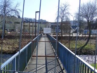 Einsturzgefahr: Ruhrbrücke in Meschede. (foto: zoom)