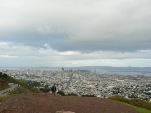 San Francisco von den Twin Peaks aus. (foto: weber)