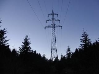 Strommast an der Himmelskrone (archiv: zoom)