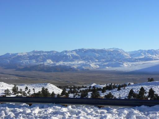 weiterhin unterwegs zur Sierra Nevada