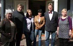Der neue Vorstand: Gerda Dettmann, Reinhard Brüggemann, Dagmar Kovar, Kirsten Malyska, Kornelius Kuhlmann und Rosi Lipke (v.l.). Es fehlt Martin Nonnweiler.