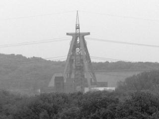Lohberg: Vor ein paar Jahren wurden die Strommasten umgesetzt. (foto: zoom)