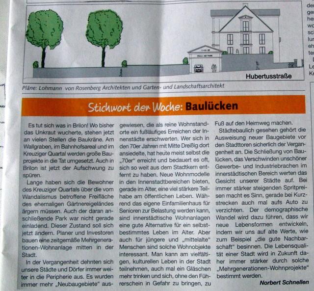 Jede Woche eine meist interessante Kolumne von Norbert Schnellen (foto: zoom)