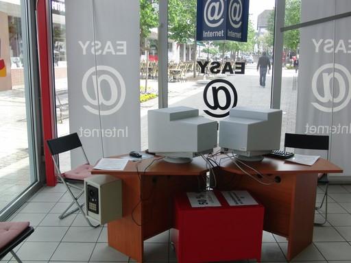 """Bezahl-Internet in der """"Neuen Mitte"""" von Winterberg. (foto: zoom)"""