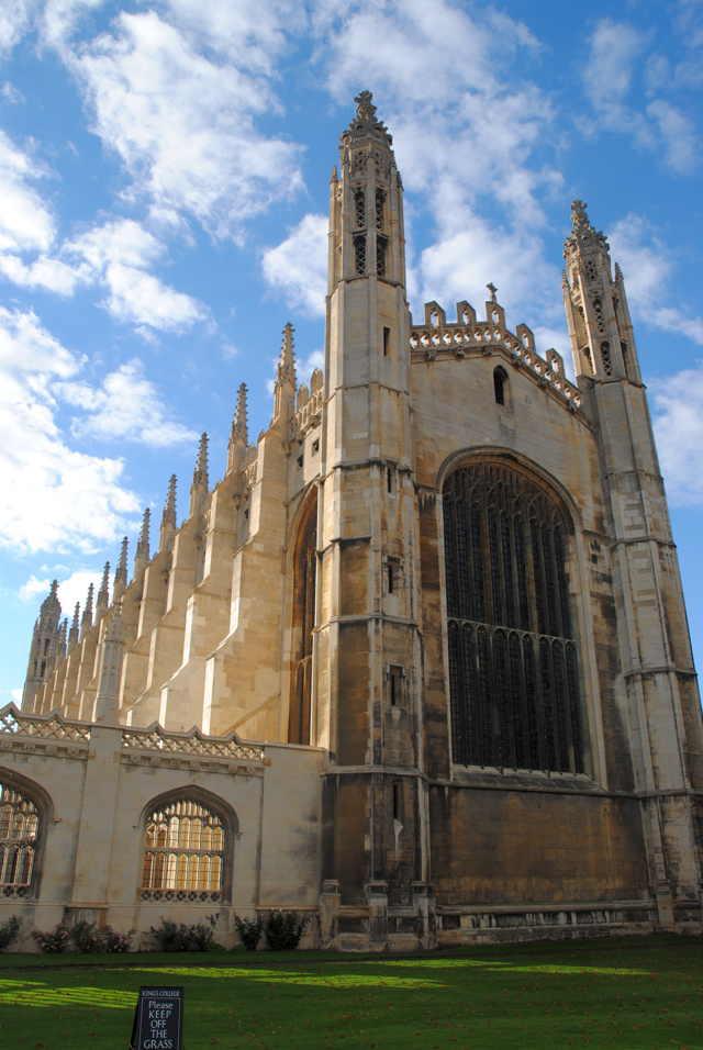 Kings College Chapel in Cambridge (foto: chris klein)