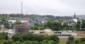 "Das Public Private Partnership Projekt ""Oversum"" wächst in Winterberg. (foto: chris)"
