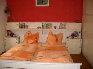 Schlafzimmer Ferienwohnung Bad Freienwalde