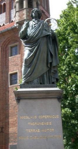 Kopernikus Statue in Torun