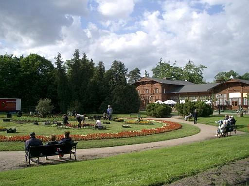 Kurpark in Ciechocinek
