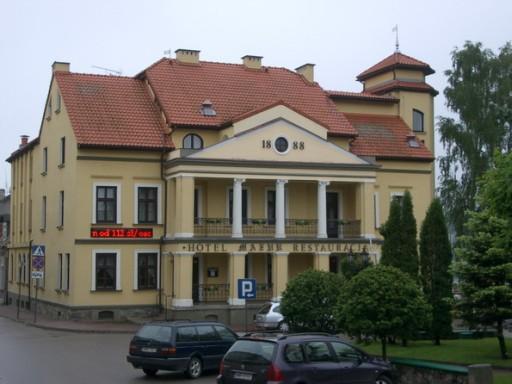 Hotel im ehemaligen Rathaus von Mikołajki (Nikolaiken)