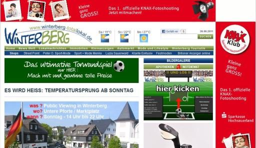 Bekommt die Westfalenpost Winterberg ernstzunehmende Konkurrenz. (screenshot: zoom)