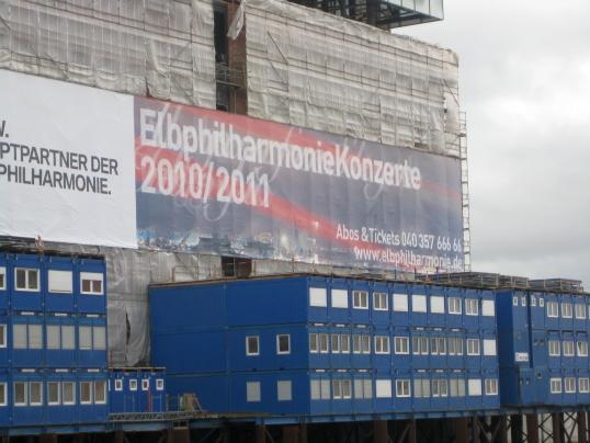 Elbphilharmonie im Bau (foto:   )