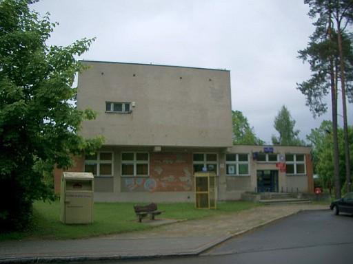 Postgebäude in Ruciane-Nida (Rudschanny-Nida) (fotos: zeitgeist)