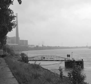 Ein grauer Sonntag am Rhein bei Voerde (foto: zoom)