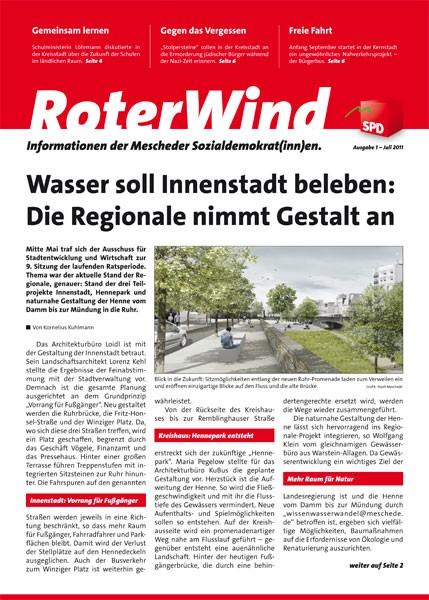 Die neue Prit- und Online Zeitung der SPD-Meschede (bild: spd)