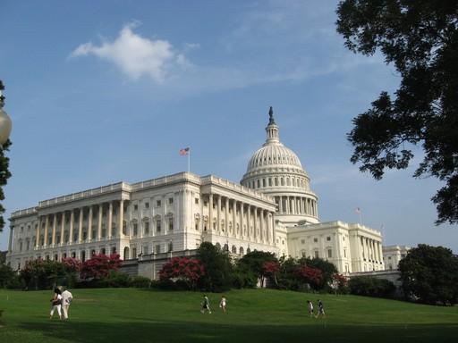 Nicht das weiße Haus, sondern der Kongress in Washington. Aber auch nicht unwichtig beim Treffen von Entscheidungen.