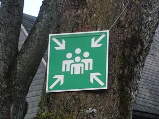 Hauptschule Winterberg: Bei Gefahr sammeln (foto: zoom)