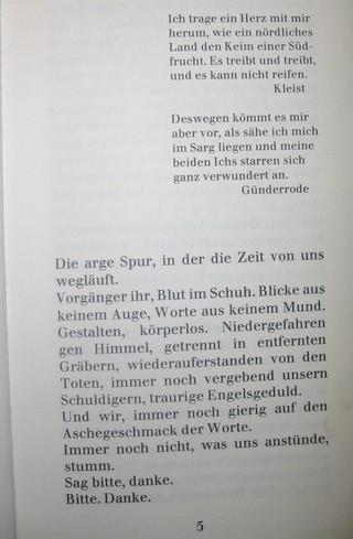 R.I.P. Christa Wolf. Nicht trauern, sondern lesen. (foto: zoom)