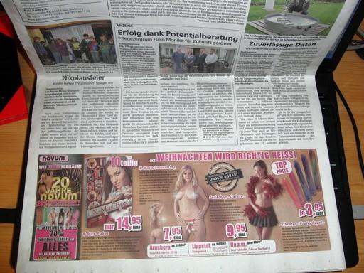 Extra scharfe Weihnachten für die ganze Familie in ihrem Anzeigenblatt, dem Sauerlandkurier (foto: zoom)