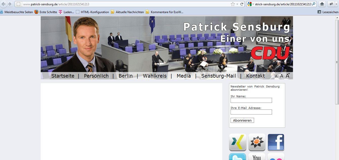 sensburgwebsite20111219