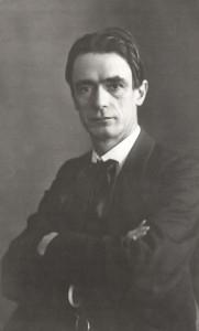 Rudolf Steiner um 1905 (Quelle: wikipedia)