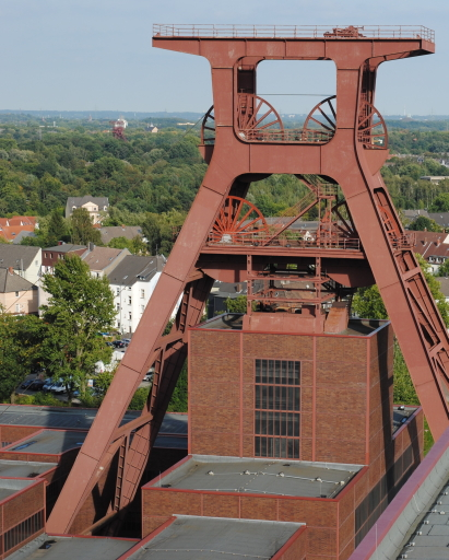 Wer spricht noch über die Zeche Zollverein? (foto: chris)