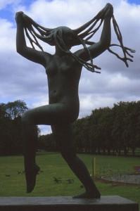 Vigeland: Frau mit Haaren in Oslo (foto: chris)