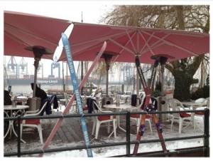 Apres Ski in Hamburg an der Elbe (foto: annerose)