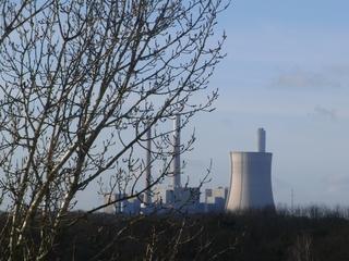 Um die Ecke geguckt: Kohlekraftwerk in Möllen (foto: zoom)