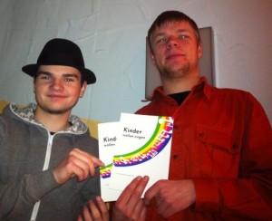 Der stellvertretende Crewsprecher Sven Salewski (links) zusammen mit dem Crewsprecher Daniel Wagner (rechts) (foto: wagner)