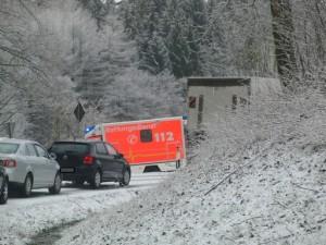 Stau vor Brunskappel aus Richtung Wulmeringhausen.