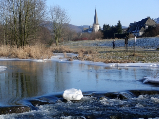 Winter in Bigge an der Ruhr (foto: zoom)