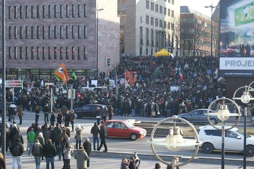 Mit so vielen Demonstranten hatten wir nicht gerechnet