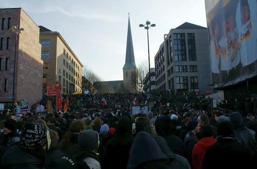 Gegen ACTA in Dortmund vor zwei Wochen (foto***: florian otto)