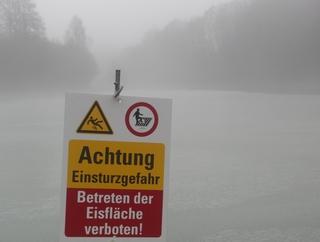 Heute am Stausee nahe Brunskappel (foto: zoom)