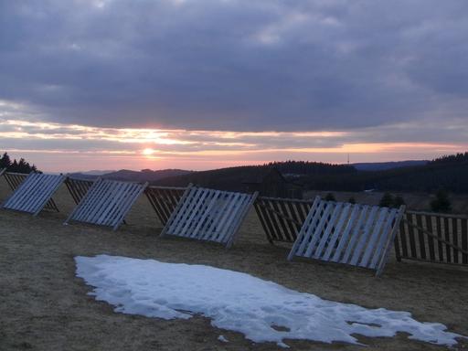 Altastenberg: Der Winter ist vorbei. Blick über die Berge (foto: zoom)