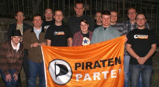 Frauenquote knapp verfehlt: Piraten wählen Kandidaten für den HSK. (foto: piraten)