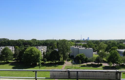 Blick Richtung Duisburg im Süden.