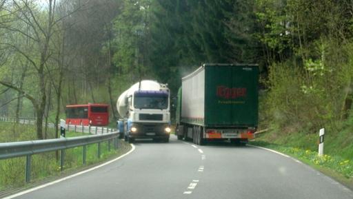 Auch das erlebe ich: mein kleiner Horror auf dem Arbeitsweg (archiv: zoom)