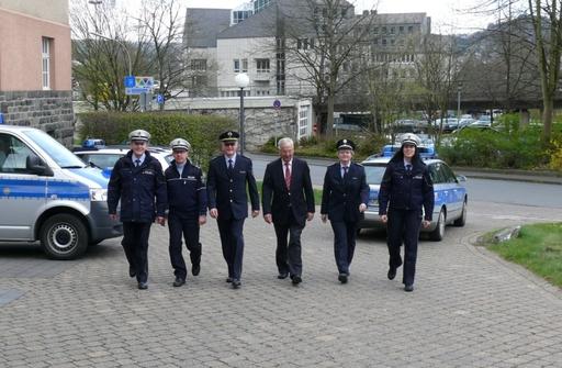 Blauer Montag: nach diesem Wochenende ist die Polizei auch im HSK nicht mehr grün. (foto: polizeipresse)