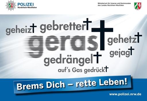 POL-HSK: Brems Dich - rette Leben! Blitzmarathon II auch im Hochsauerlandkreis (foto: Kreispolizeibehörde)