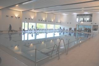 Schwimmhalle bei der Eröffnung (archiv)